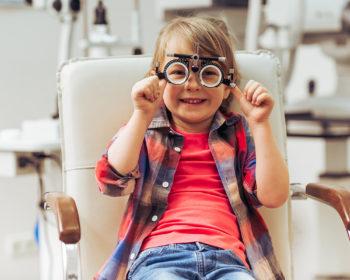 Лікувальні вправи для покращення зору у дітей