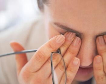 Синдром сухого ока: небезпечне ускладнення